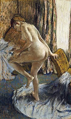 (Edgar Degas After The Bath 30