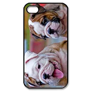 Bulldog Puppy iPhone 4/4s Case Back Case for iphone 4/4s