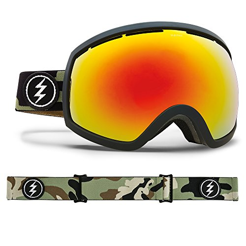 Electric Eg2 Snow Goggles - Electric Visual EG2 Camo/Brose Red Chrome Snow Goggle