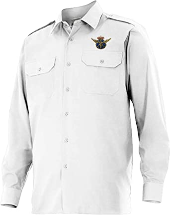 Piloto Aviación PPL (2 GALONES) - Camisa Manga Larga con galoneras: Amazon.es: Ropa y accesorios