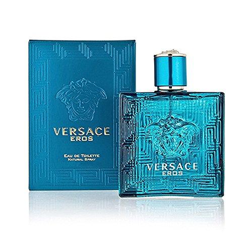 - Versace Eros Eau De Toilette Spray, 1.7 Ounce