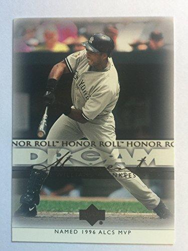2002 Upper Deck Honor Roll #92 Bernie Williams NM/M (Near Mint/Mint)