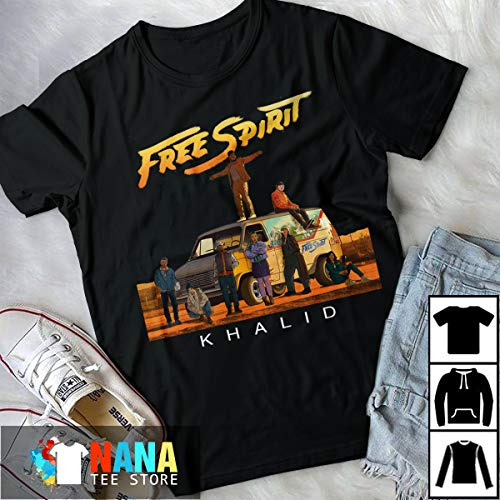 Khalid Free Spirit Summer World Tour With Team Gift For Men Women T-Shirt Long T-Shirt Sweatshirt Hoodie -