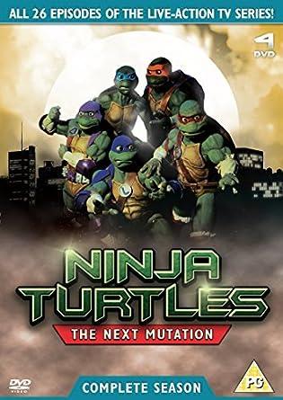 Ninja Turtles - The Next Mutation 4 Disc Box Set DVD by ...