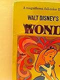 Walt Disney's Alice in Wonderland Album and 11 page book of full-color illustrations 3909