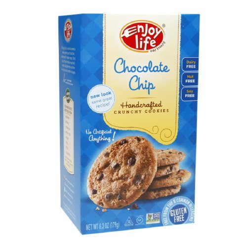 Enjoy Life Handcrafted Crunchy Cookies 6.3 oz (Chocolate Chip, 1 Pack) by Enjoy Life Foods (Image #1)