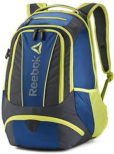 Reebok Delta Stratofortress Backpack Blue/ Yellow (One Si...
