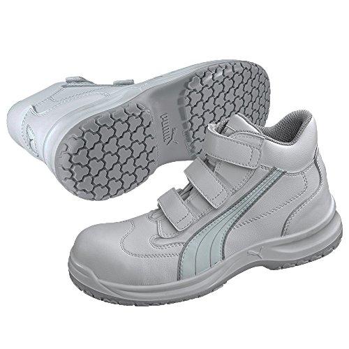 Hautes S2 Puma Src De Blanc Chaussures Cuisine Sécurité Absolute Mid IqAIZ