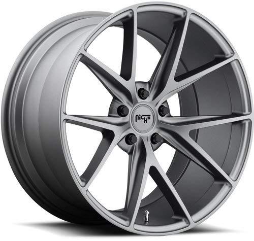 (MHT 11618806540 Milan M116 Cast Concave Monoblock Wheel Size: 18 x 8 Bolt Circle)