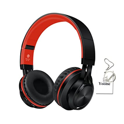 Yoome Auriculares Bluetooth Over Ear Hi-Fi Deep Bass Auriculares inalámbricos sobre el oído Cómodo