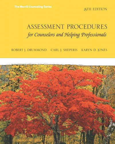 Assessment Procedures for Counselors and Helping Professionals (8th Edition) (Merrill Counselling) by Pearson