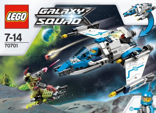 LEGO Galaxy Squad 70701: Swarm Interceptor