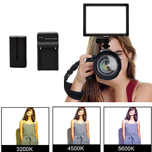 LED Camera Light Panel, Dazzne Bi-Color ...