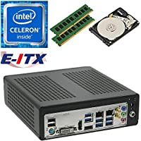 E-ITX ITX350 Asrock H270M-ITX-AC Intel Celeron G3930 (Kaby Lake) Mini-ITX System , 16GB Dual Channel DDR4, 1TB HDD, WiFi, Bluetooth, Pre-Assembled and Tested by E-ITX