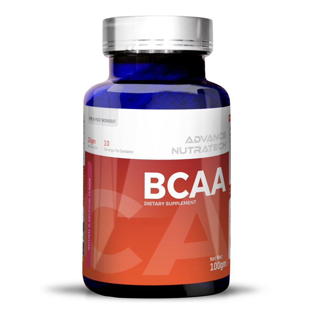 BCAA 100Gm 0.44lbs powder Unflavoured For Beginners