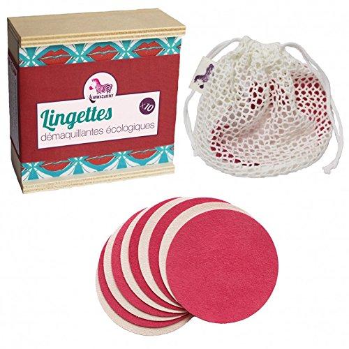 Lamazuna Waschbare Abschminktücher in Box, 10 Stück ...