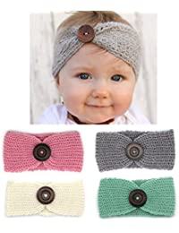 Baby Hair Accessories Baby Girl's Gift Box with Knit...