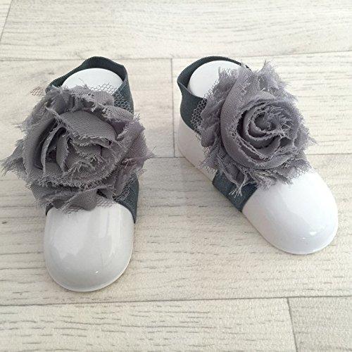 accéssoire, couvres patas modelo 'rosa' gris