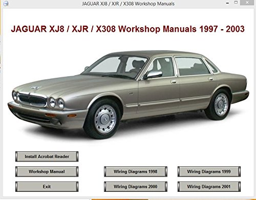 Jaguar xj8 x308 workshop and parts manual amazon software sciox Image collections