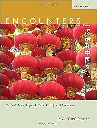 Descargar Para Utorrent Encounters: Chinese Language And Culture, Student Book 3 PDF Gratis En Español