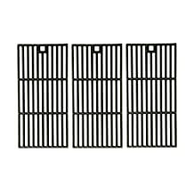 Cast Iron Cooking Grid Replacement for Broil-King, Centro, Charbroil, Kenmore 415.16123801, Coleman, Kirland, and Kmart 640-641215405 Gas Grill Models, Set of 3