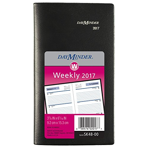 At-A-Glance SK4800 Weekly Pocket Planner, 3 1/2 X 6 3/16, Bl