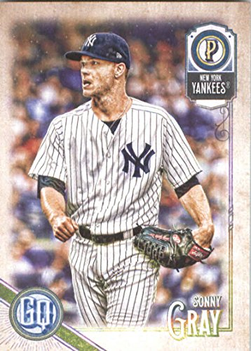 2018 Topps Gypsy Queen #212 Sonny Gray New York Yankees Baseball Card - GOTBASEBALLCARDS