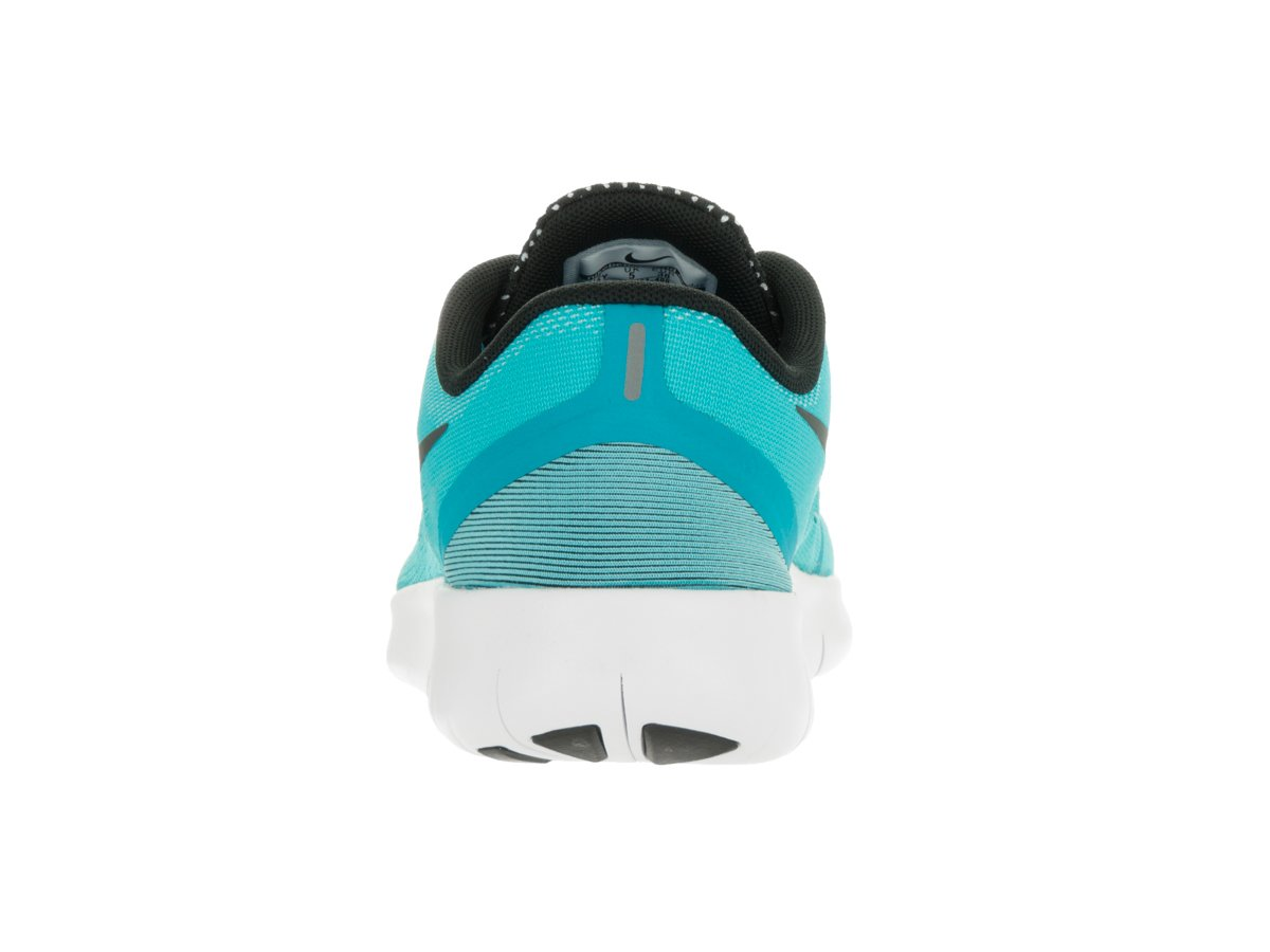 Nike Kids Free RN (GS) Gamma Blue/Black/White Running Shoe 6.5 Kids US