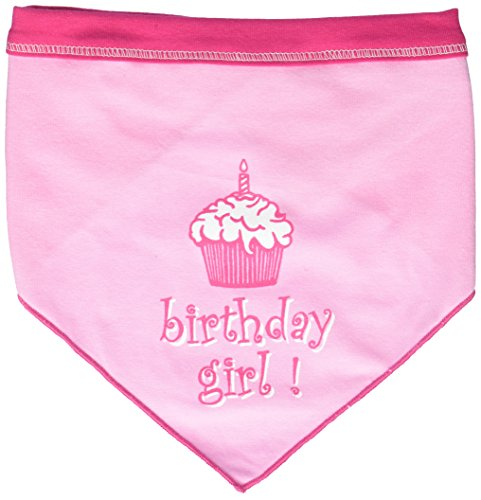 I See Spot's Pet Scarf Bandanna, Birthday Girl, Large, -