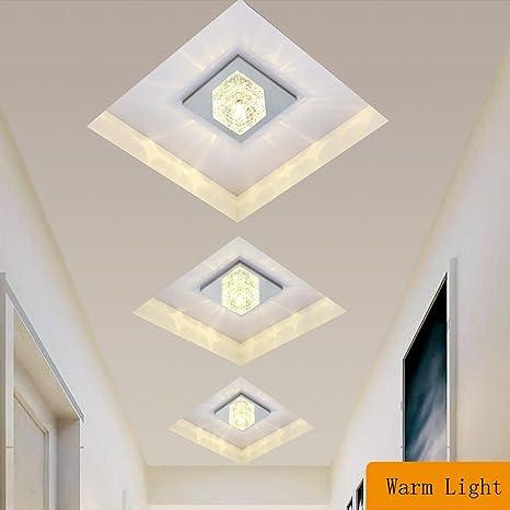 LED Lámpara de techo Moderno Cuadrado Diseño Iluminación de techo ...