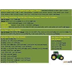 STARTER for John Deere Farm/Industrial/Utility Tra