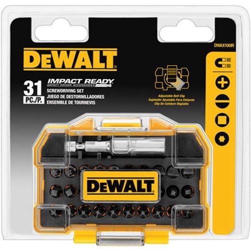 DEWALT DWAX100IR IMPACT Screwdriving 31 Piece