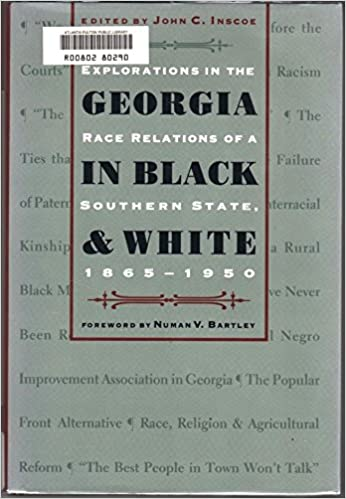 Georgia in Black and White: Explorations in the Race