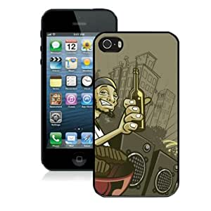 Custom Funny Design Iphone 5/5s Case Cover Cheap Cartoon Cellphone Protector