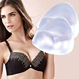 Silicone Breast Inserts - Waterproof Enhancers Bra Inserts A to C Cup for Swimsuits & Bikini