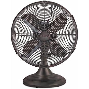 Amazon Com Hunter Fan 90406 12 Quot Oscillating Desk Fan