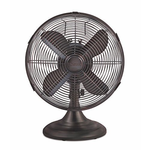 Holmes Heritage Collection Table Fan, 12-inch, Brushed Bronze by Holmes