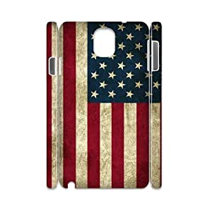 samsung galaxy note 3 N9000 case Of American Retro Flag 3D Bumper Plastic customized case