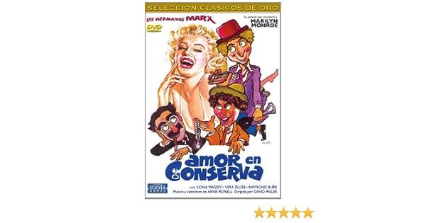 Amor en conserva [DVD]: Amazon.es: Groucho Marx, Marylin Monroe ...