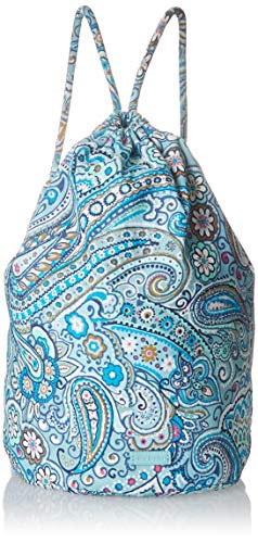 Vera Bradley Iconic Ditty Bag, Signature Cotton, Daisy Dot Paisl