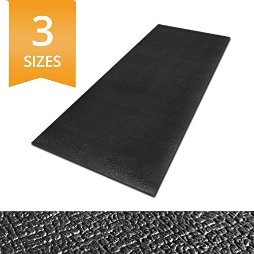 Ergocell Kitchen Anti Fatigue Mat - Memory Foam Kitchen Mat | Ergonomically Engineered Standing Desk Mat for Promoting Comfort at Home & Office | Two Colors Available | Black - 17 x 32