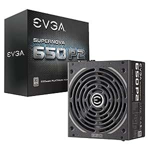 EVGA SuperNOVA 650 P2, 80+ PLATINUM 650W, Fully Modular, EVGA ECO Mode, 10 Year Warranty, Includes FREE Power On Self Tester, Power Supply 220-P2-0650-X1