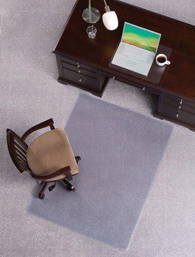 Mat Depot Premium Beveled Edge Chair Mat, 60 x 72 inches, 1 4 Thick, Clear