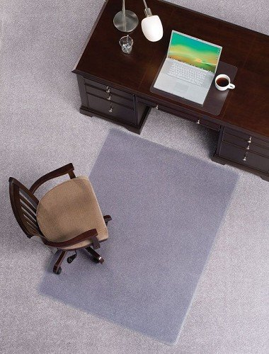 Mat Depot Premium Beveled Edge Chair Mat, 36 x 48 inches, 1/4'' Thick, Clear by Mat Depot