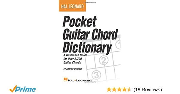 Amazon Hal Leonard Pocket Guitar Chord Dictionary