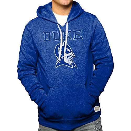 - Elite Fan Shop Duke Blue Devils Retro Hooded Sweatshirt - L
