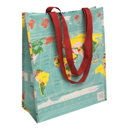 Dotcomgiftshop - Cloth Bag Womens World Map