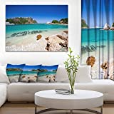 Beautiful Knysna Beach South Africa Large Seashore Canvas Print