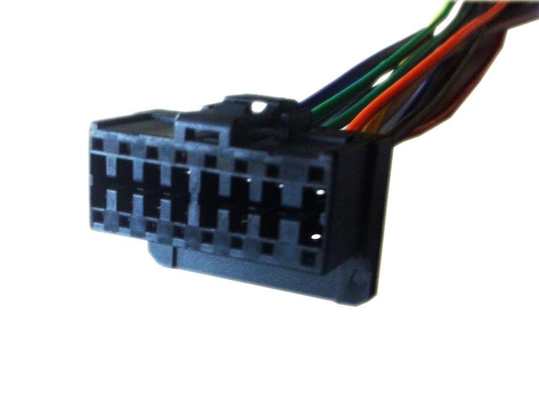 Pioneer Deh P6400 Wiring Harness Wire Diagram P3500 Amazon Com P640 Player Rh Colors 5200b