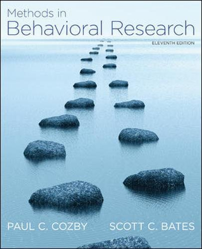 Methods in Behavioral Research (Best Studying Methods And Tips)